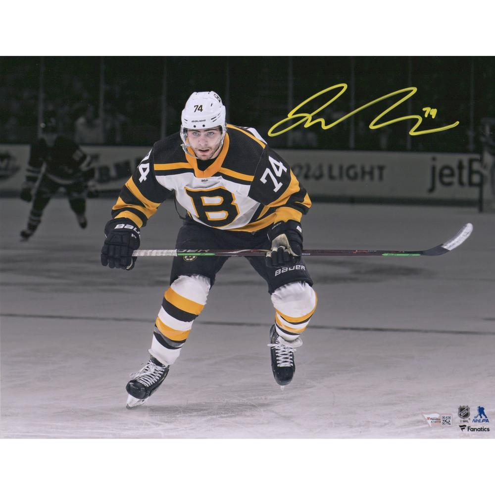 Jake DeBrusk Boston Bruins Autographed 11