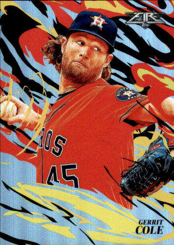 Photo of 2019 Topps Fire Flame Throwers #FT5 Gerrit Cole