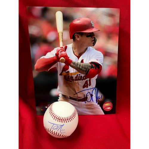 Tyler O'Neill Autographed Baseball and Photo