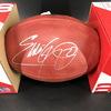 NFL - Titans Eddie George Signed Authentic Football