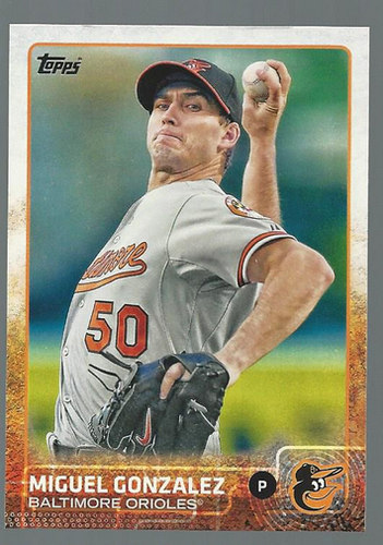 Photo of 2015 Topps #8 Miguel Gonzalez
