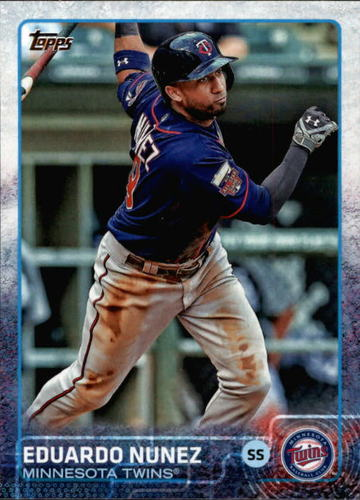 Photo of 2015 Topps #499 Eduardo Nunez