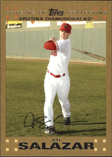 Photo of 2007 Topps Update Gold #22 Jeff Salazar