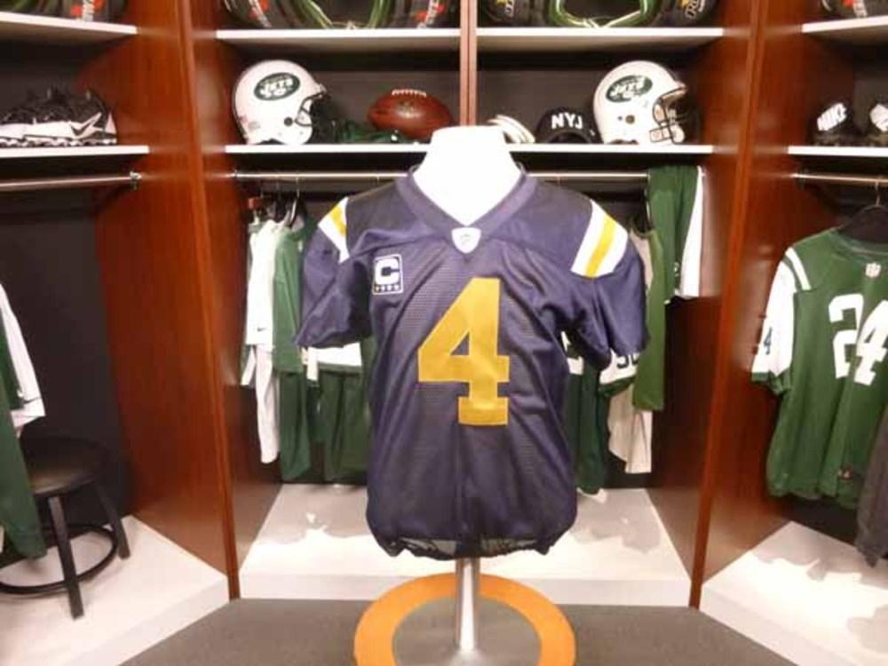 info for 0e2b6 09759 NFL Auction | Jets - Brett Favre - Gameworn Jersey 10/12/2008