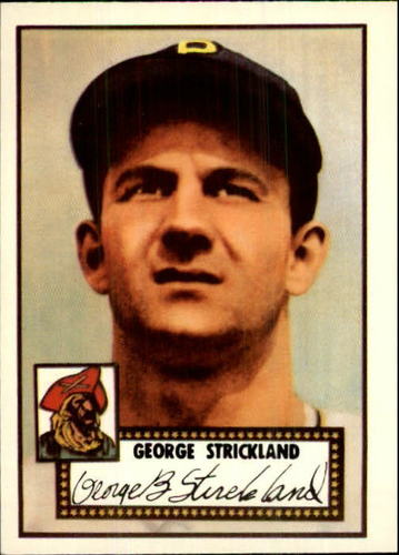 Photo of 1983 Topps 1952 Reprint #197 George Strickland