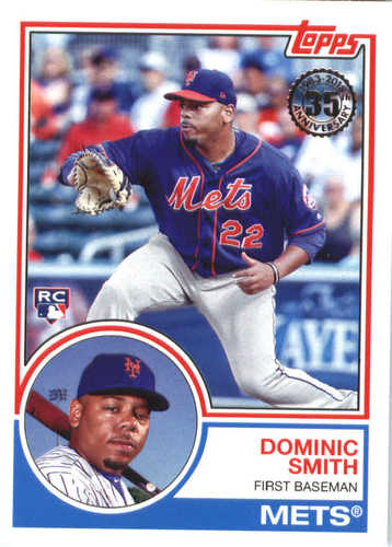 Photo of 2018 Topps '83 Topps #8317 Dominic Smith