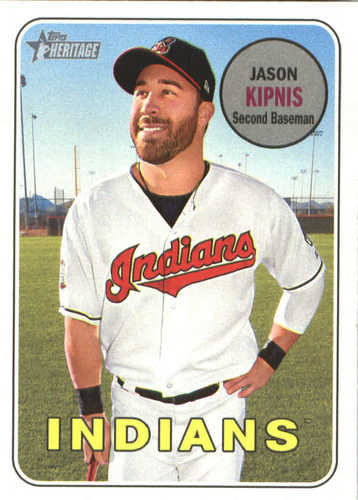 Photo of 2018 Topps Heritage #199 Jason Kipnis