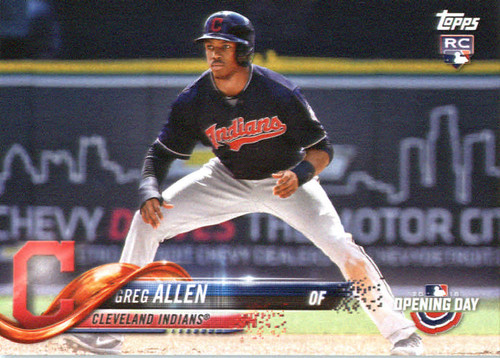 Photo of 2018 Topps Opening Day #121 Greg Allen