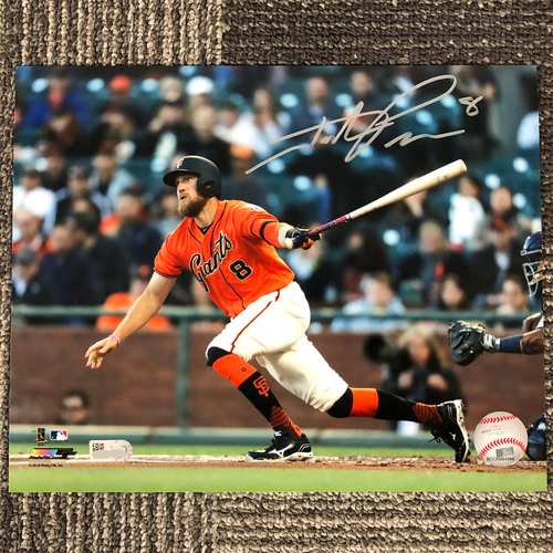 "Photo of San Francisco Giants - Autographed Photo 8""x10"" - Hunter Pence"