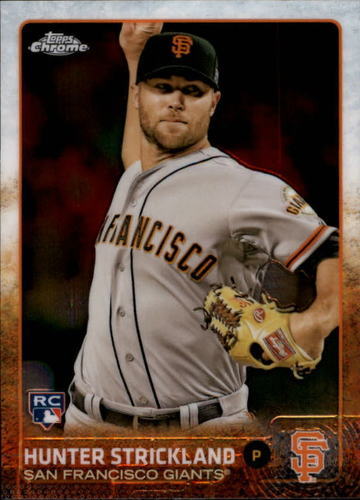 Photo of 2015 Topps Chrome #39 Hunter Strickland RC