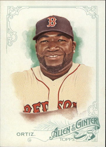 Photo of 2015 Topps Allen and Ginter #65 David Ortiz