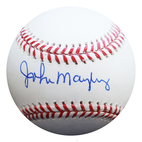 Photo of Autographed Baseball: John Mayberry