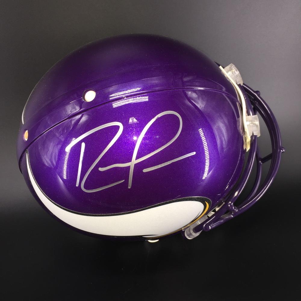 HOF - Vikings Randy Moss Signed Proline Helmet