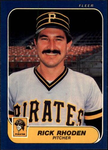 Photo of 1986 Fleer #620 Rick Rhoden