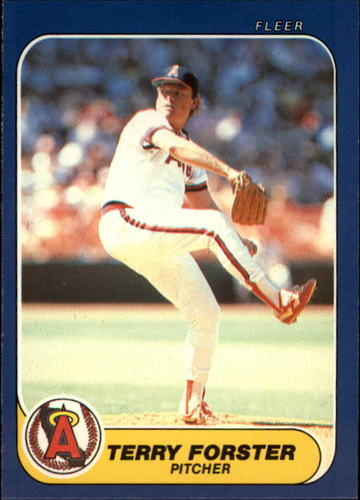 Photo of 1986 Fleer Update #42 Terry Forster