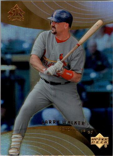 Photo of 2005 Reflections #92 Larry Walker