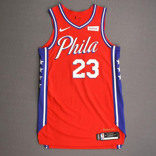 Image of Trey Burke - Philadelphia 76ers - Game-Worn Statement Edition Jersey - 2019-20 Season