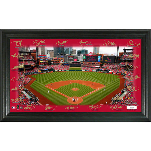 Photo of St. Louis Cardinals 2020 Signature Field Limited Edition Frame