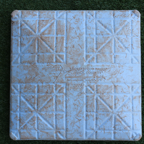Photo of Game-Used 2nd Base: Jorge Soler 46th Home Run of 2019 Season (Innings 1-5 - MIN @ KC - 9/28/19)