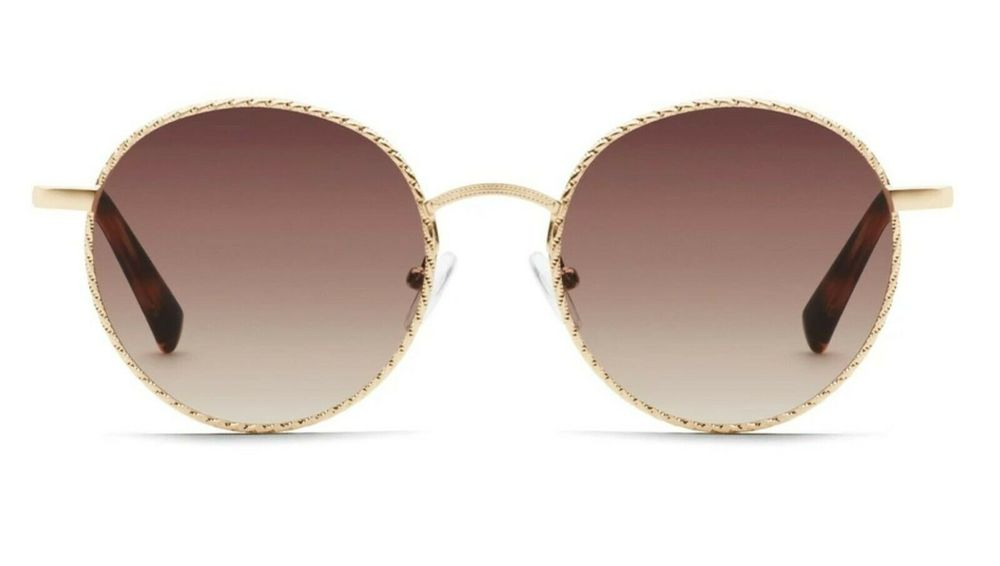 Photo of Quay Australia I See You Gold Rope Sunglasses