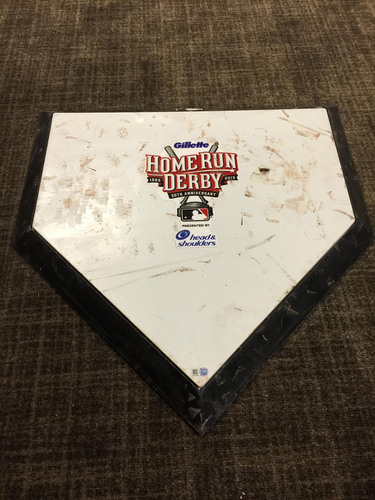 2015 All-Star Home Run Derby: Game-Used Home Plate - JB010089