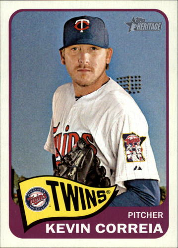 Photo of 2014 Topps Heritage #62A Kevin Correia