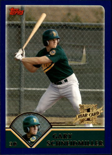 Photo of 2003 Topps Traded #T248 Gary Schneidmiller FY RC