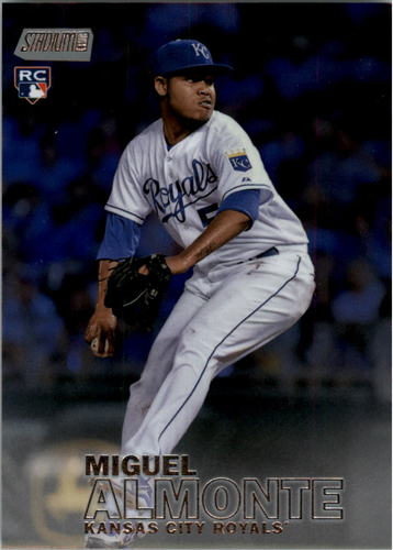 Photo of 2016 Stadium Club Foilboard #61 Miguel Almonte Rookie Card Parallel #d 01/25