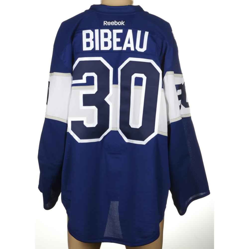 Antoine Bibeau Toronto Maple Leafs 2017 Centennial Classic Player - Issued  Jersey 34e774e10