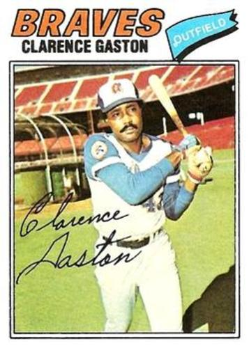 Photo of 1977 Topps #192 Clarence Gaston