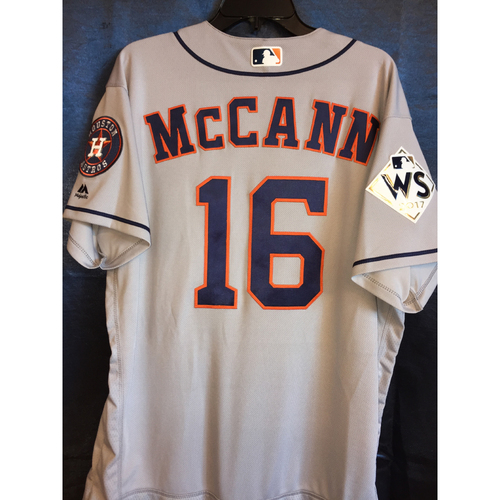 Photo of World Series Game 1 - Brian McCann Game-Used Road Jersey