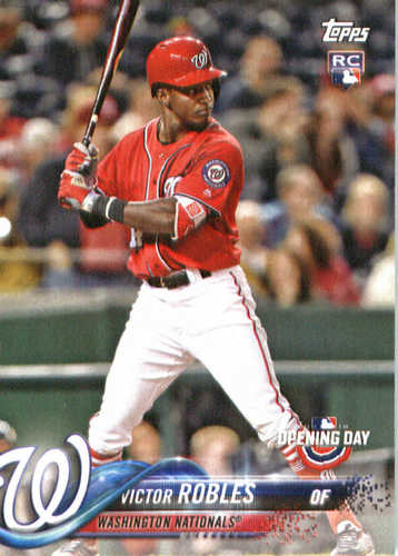 Photo of 2018 Topps Opening Day #127 Victor Robles
