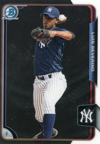 Photo of 2015 Bowman Chrome Prospects #BCP125 Luis Severino