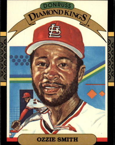Photo of 1987 Donruss #5 Ozzie Smith -- Hall of Fame Class of 2002