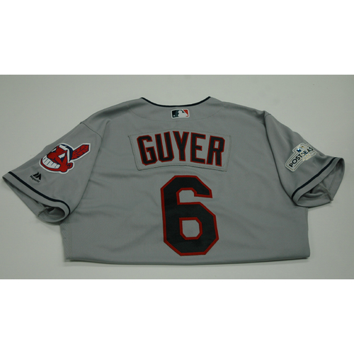 Photo of Brandon Guyer 2017 Team-Issued Postseason Road Jersey