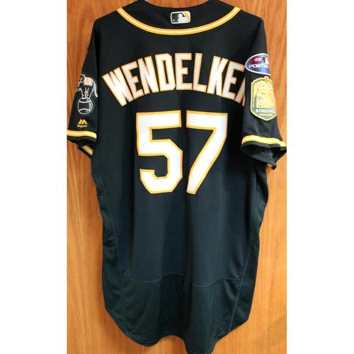 Photo of Game-Used Jersey: J.B. Wendelken AL Wild Card Game 10/3/18