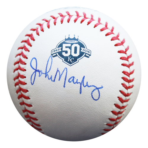 Photo of Autographed 50th Season Baseball: John Mayberry