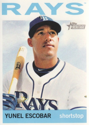 Photo of 2013 Topps Heritage #123 Yunel Escobar