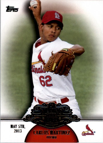 Photo of 2013 Topps Making Their Mark #MM36 Carlos Martinez
