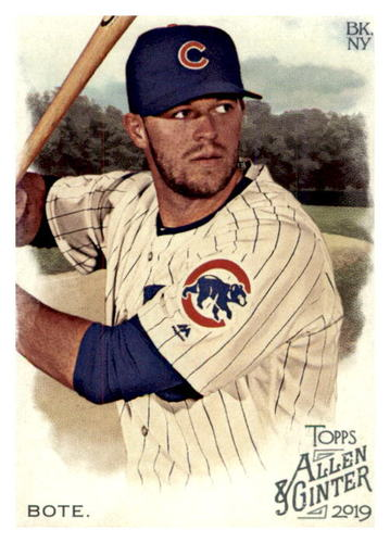 Photo of 2019 Topps Allen and Ginter #198 David Bote