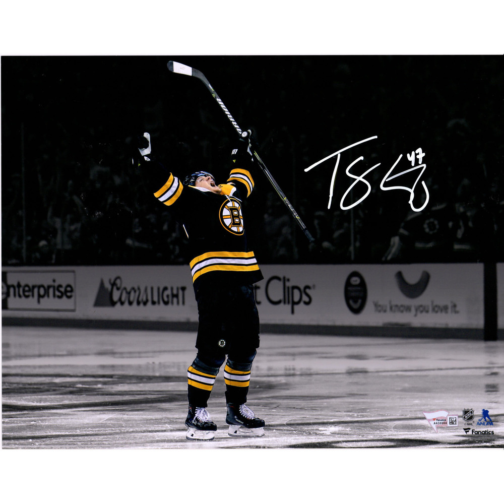 Torey Krug Boston Bruins Autographed 11