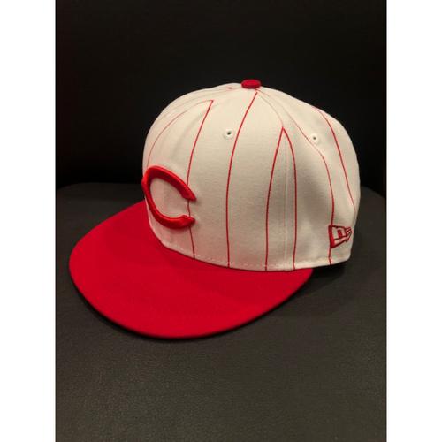 Anthony DeSclafani -- Game-Used 1995 Throwback Cap (Starting Pitcher: 6.0 IP, 3 H, 2 ER, 3 K) -- D-backs vs. Reds on Sept. 8, 2019 -- Cap Size 7