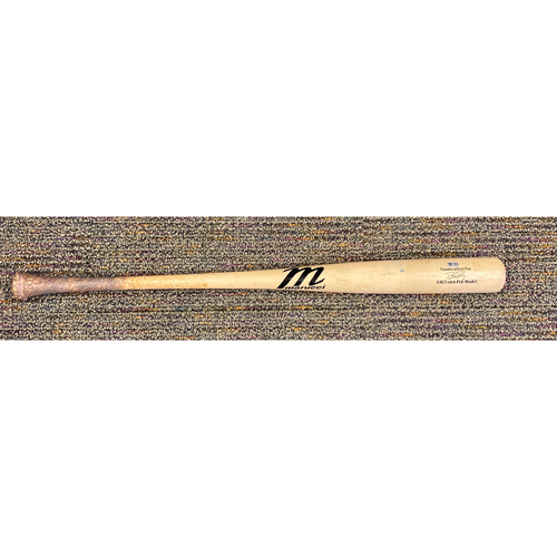 Photo of 2019 Game Used Bat used by #28 Buster Posey on 9/29 vs. LAD - B-1: Rich Hill to Buster Posey - Single to CF