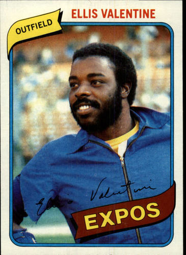 Photo of 1980 Topps #395 Ellis Valentine