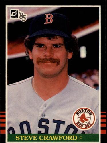Photo of 1985 Donruss #395 Steve Crawford