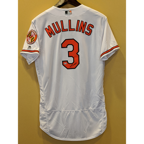 Cedric Mullins - Autographed Home Jersey