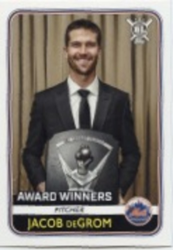 Photo of 2020 Topps Big League #269 Jacob deGrom AW