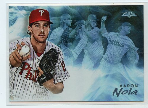 Photo of 2019 Topps Fire Smoke and Mirrors #SM4 Aaron Nola