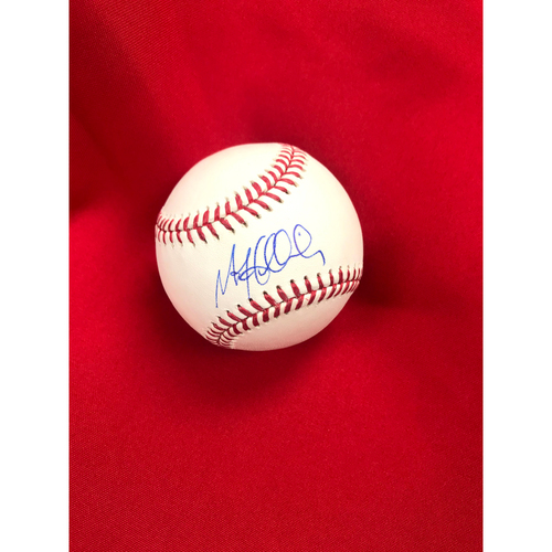 Photo of Matt Holliday Autographed Baseball