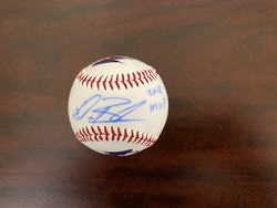 Photo of CL MVP Dan Black autographed baseball